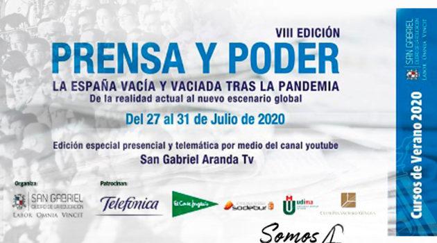 Presentada la nueva edición del Curso Universitario de Verano Prensa y Poder