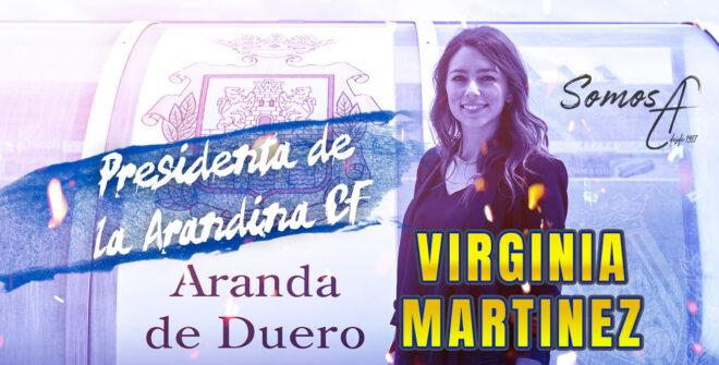 Virginia Martínez nueva Presidenta de la Arandina CF.