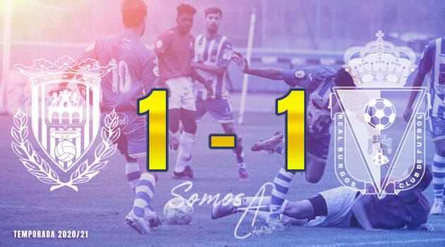 Empate a 1 contra el Real Burgos.