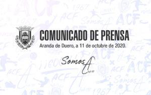Comunicado de prensa / 11-10-20