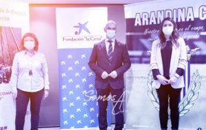 Fundación La Caixa y CaixaBank renuevan su apoyo a Cáritas y la Arandina