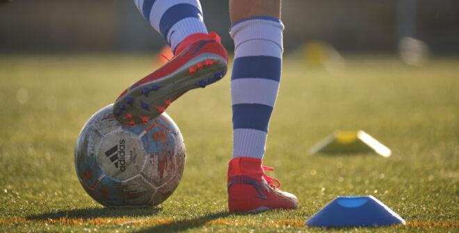 El regreso del fútbol base en imágenes